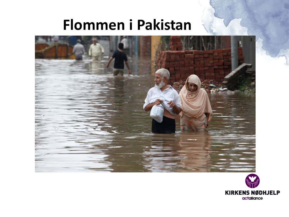 Flommen i Pakistan Flommen i Pakistan