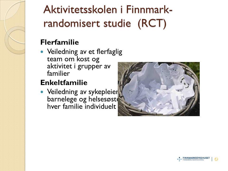 Aktivitetsskolen i Finnmark- randomisert studie (RCT)