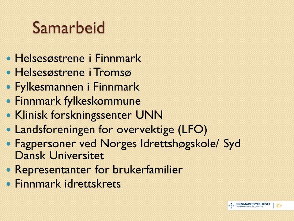 Samarbeid Helsesøstrene i Finnmark Helsesøstrene i Tromsø