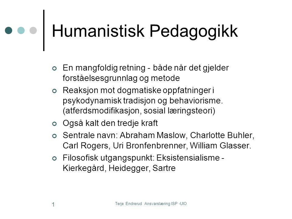 Humanistisk Pedagogikk
