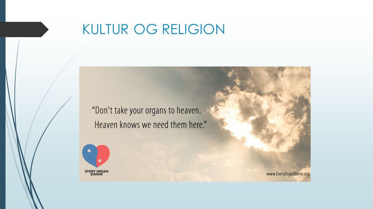 KULTUR OG RELIGION