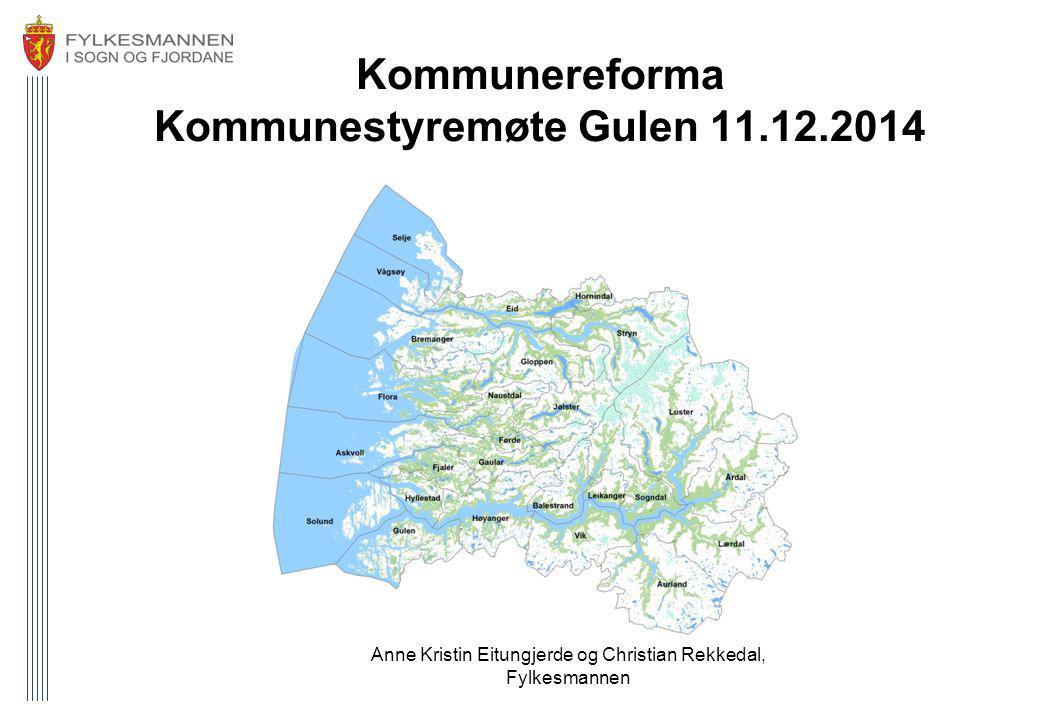 Kommunereforma Kommunestyremøte Gulen 11.12.2014