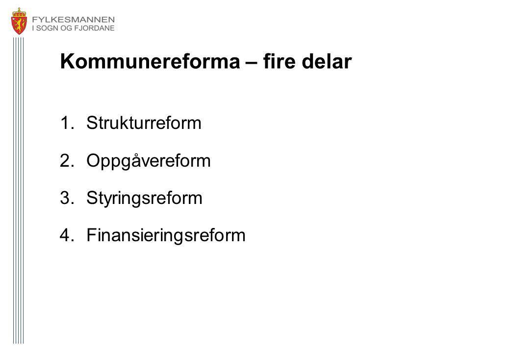 Kommunereforma – fire delar