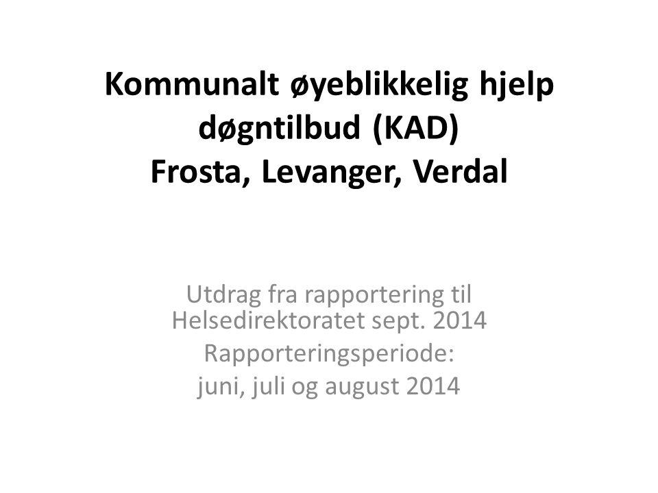Kommunalt øyeblikkelig hjelp døgntilbud (KAD) Frosta, Levanger, Verdal