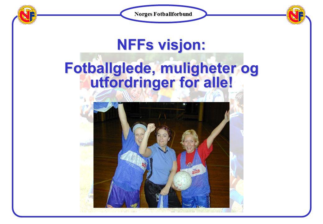 Fotballglede, muligheter og utfordringer for alle!