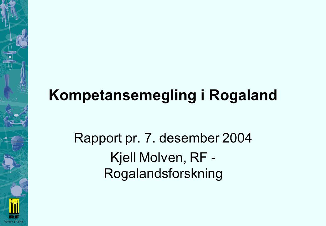 Kompetansemegling i Rogaland