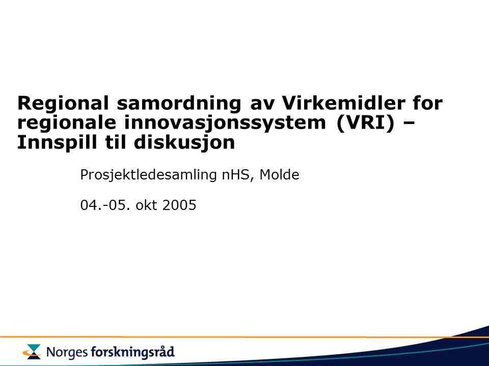 Prosjektledesamling nHS, Molde 04.-05. okt 2005