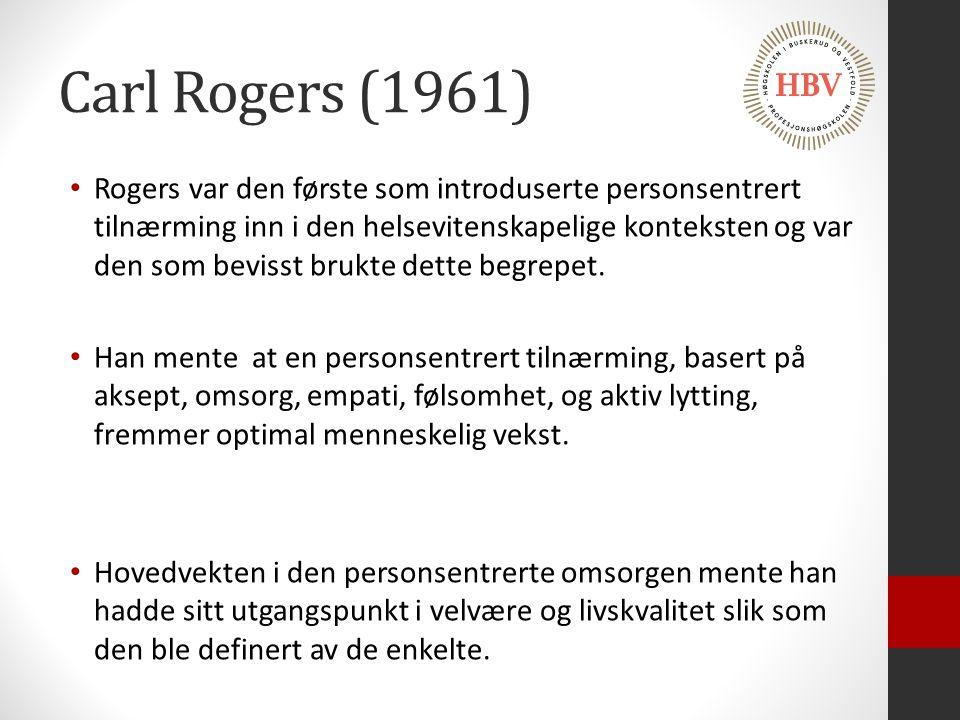 Carl Rogers (1961)