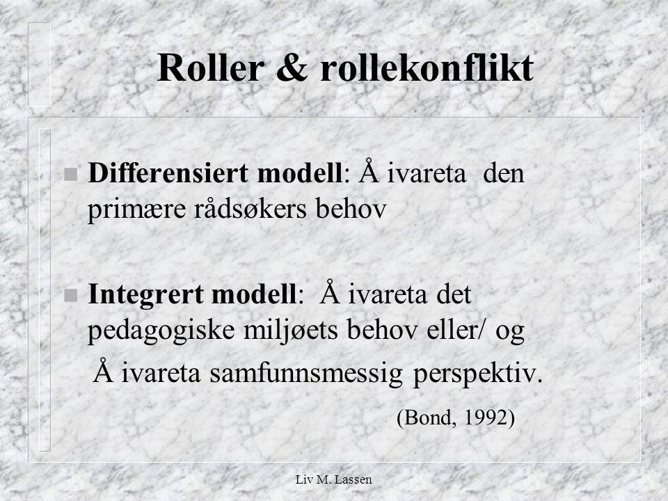 Roller & rollekonflikt