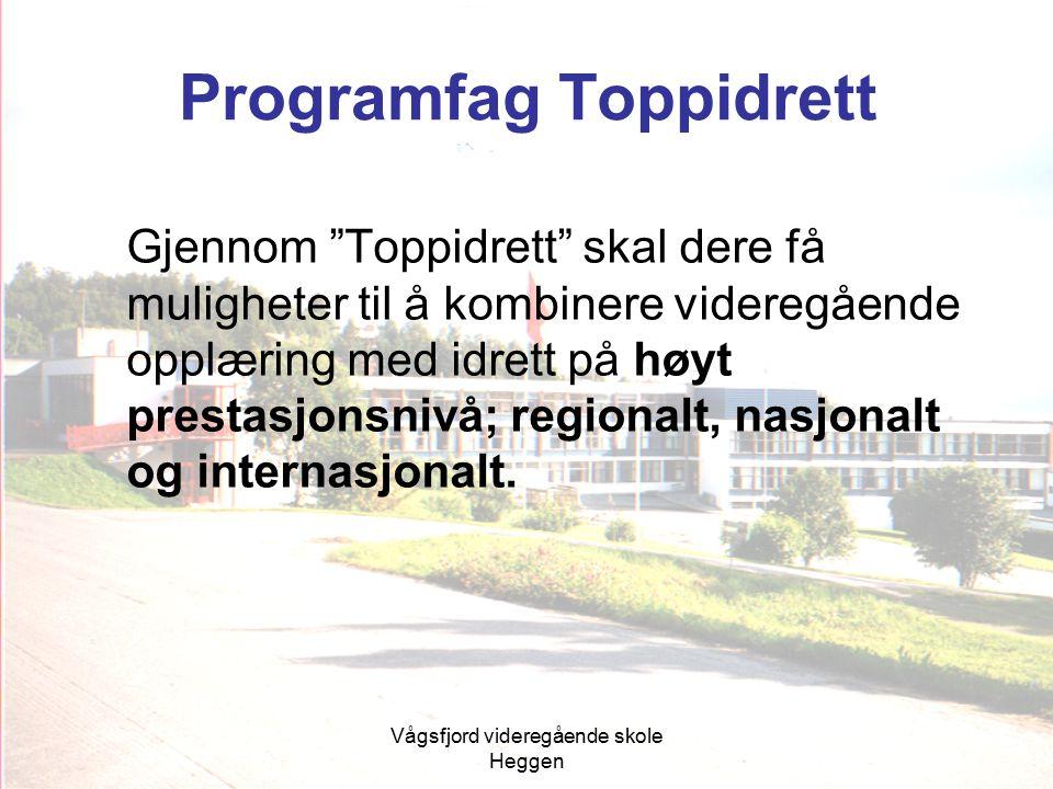 Programfag Toppidrett