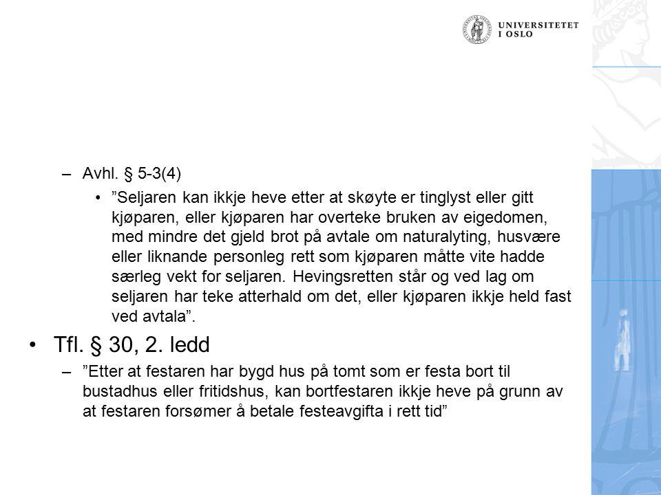 Avhl. § 5-3(4)