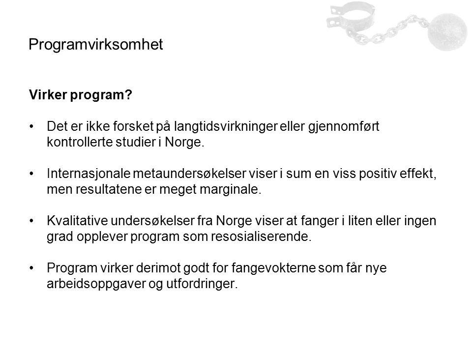 Programvirksomhet Virker program