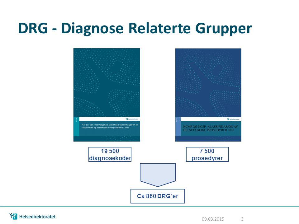 DRG - Diagnose Relaterte Grupper