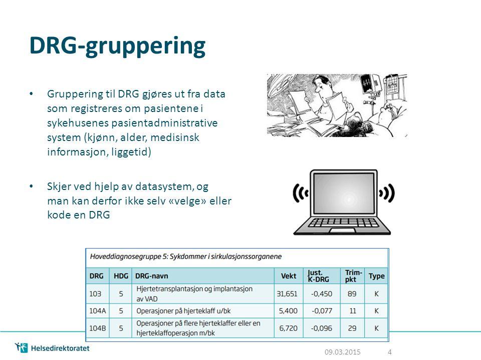 DRG-gruppering