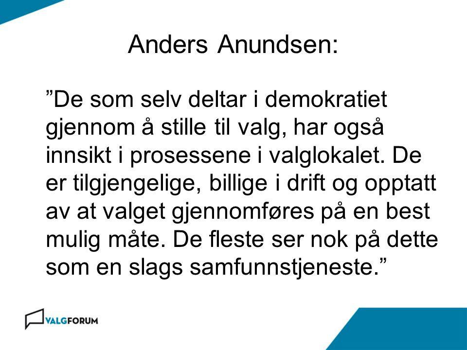 Anders Anundsen: