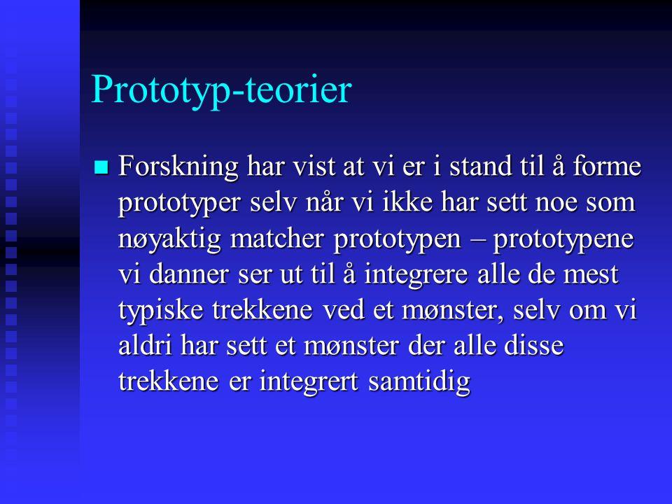 Prototyp-teorier
