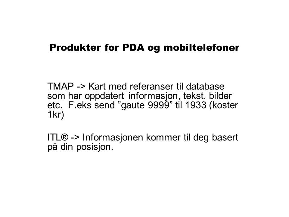 Produkter for PDA og mobiltelefoner
