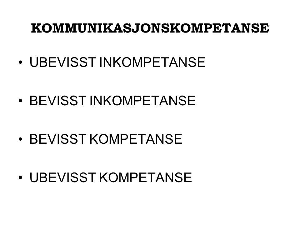 KOMMUNIKASJONSKOMPETANSE