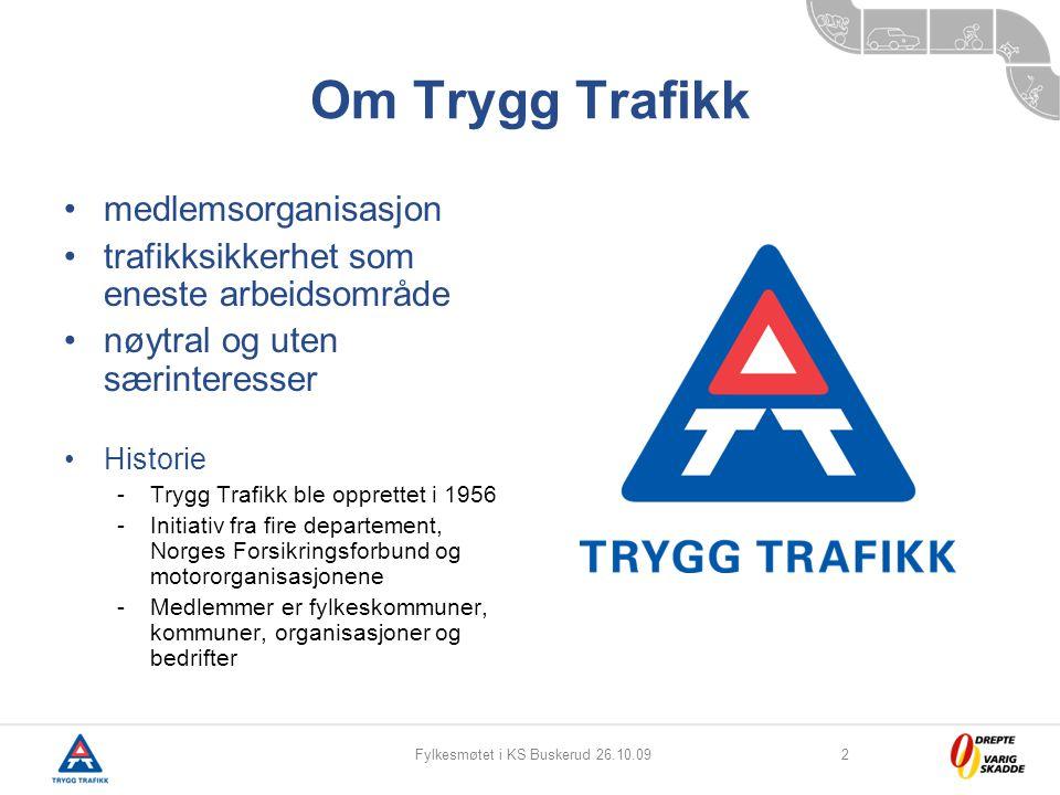 Fylkesmøtet i KS Buskerud 26.10.09