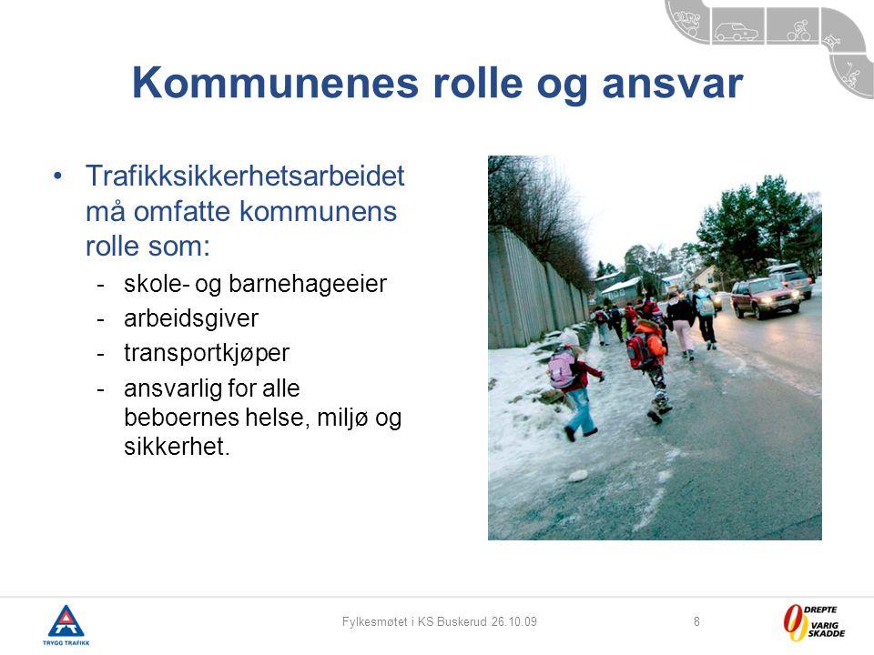 Kommunenes rolle og ansvar