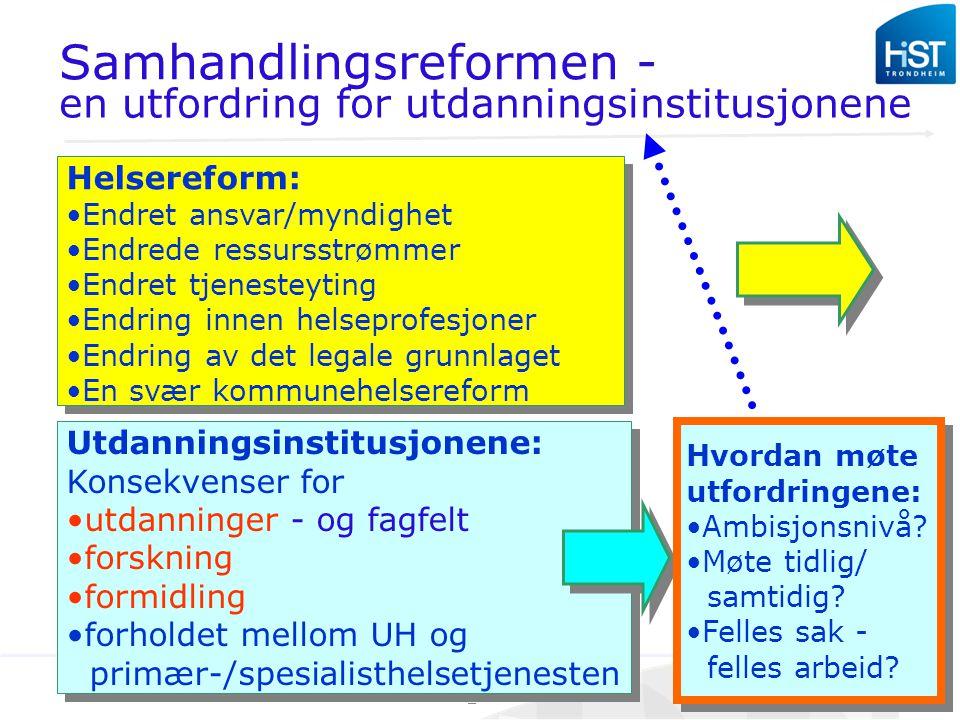 Samhandlingsreformen -