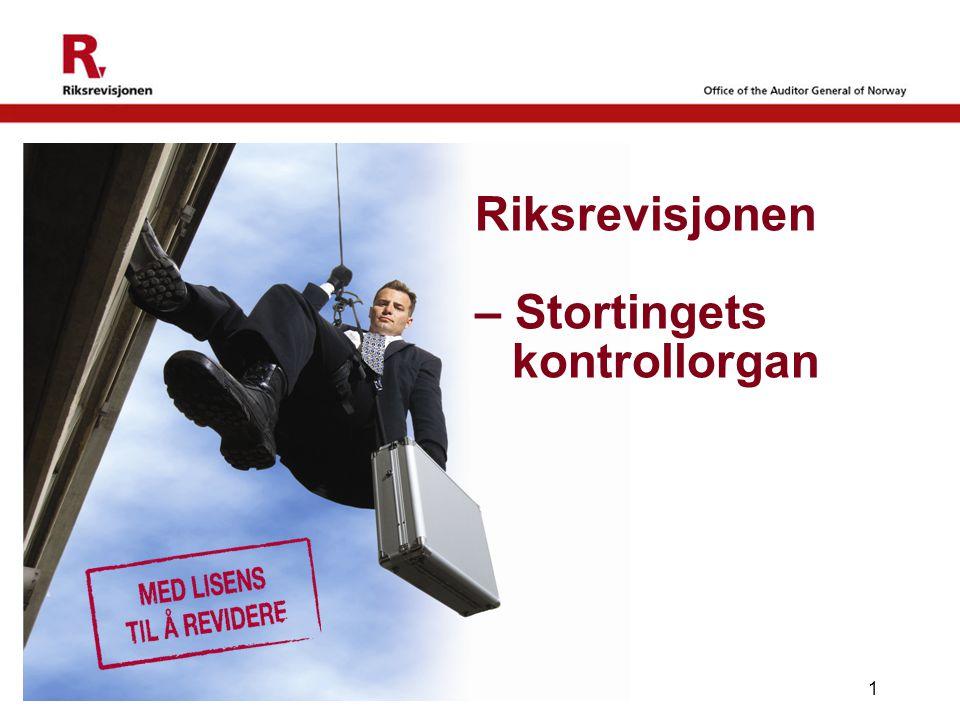 Riksrevisjonen – Stortingets kontrollorgan