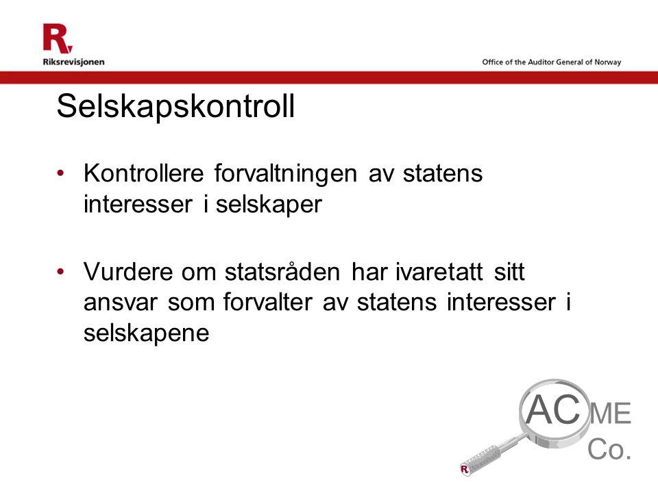 AC Selskapskontroll ME Co.
