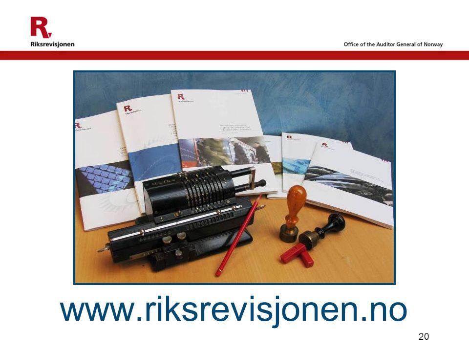 www.riksrevisjonen.no