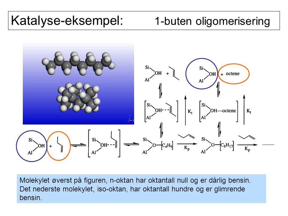 Katalyse-eksempel: 1-buten oligomerisering