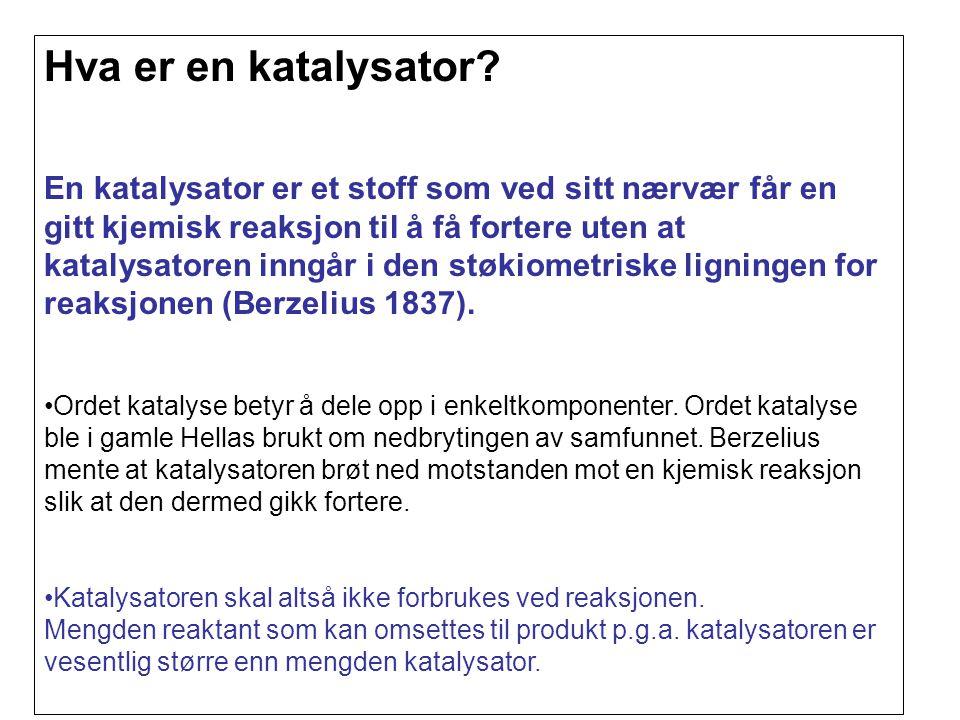 Hva er en katalysator