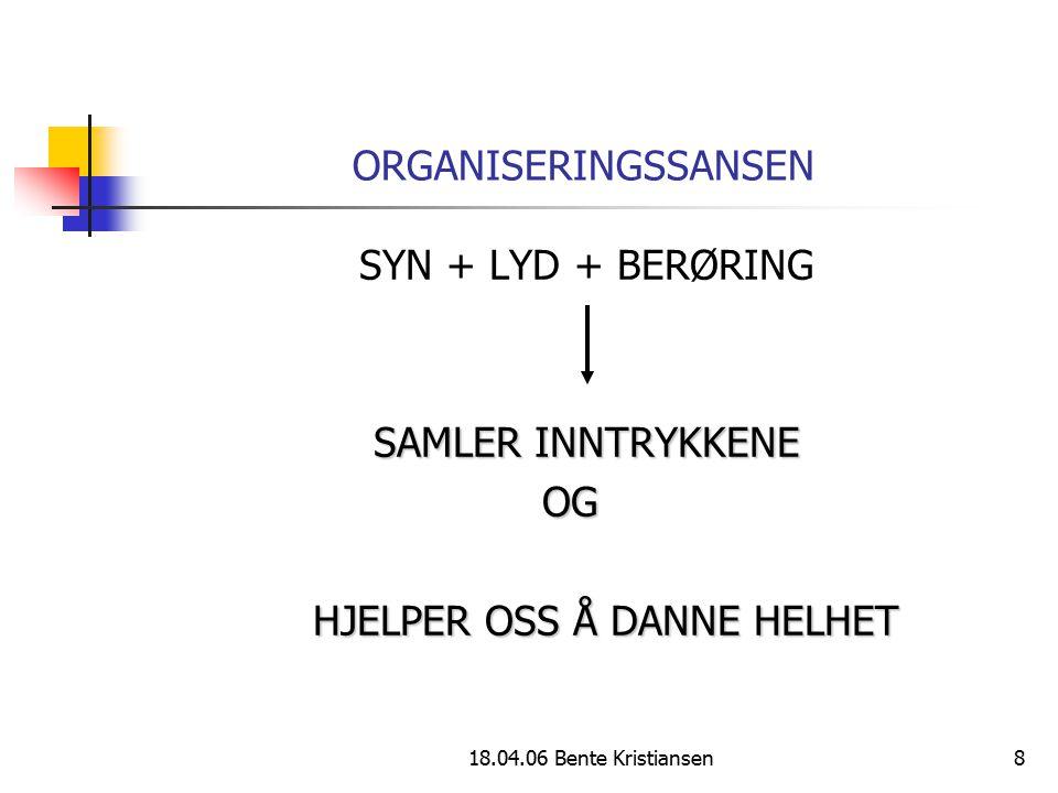 HJELPER OSS Å DANNE HELHET