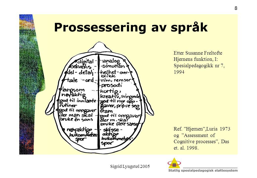 Prossessering av språk