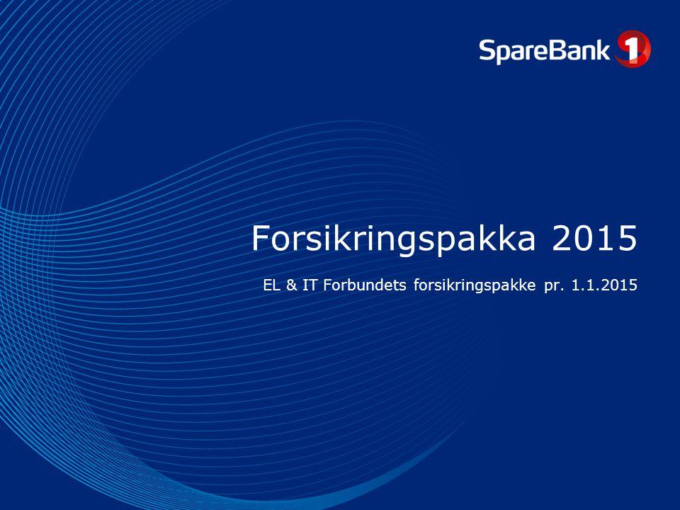 EL & IT Forbundets forsikringspakke pr. 1.1.2015