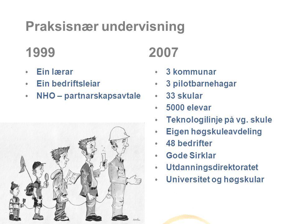 Praksisnær undervisning 1999 2007