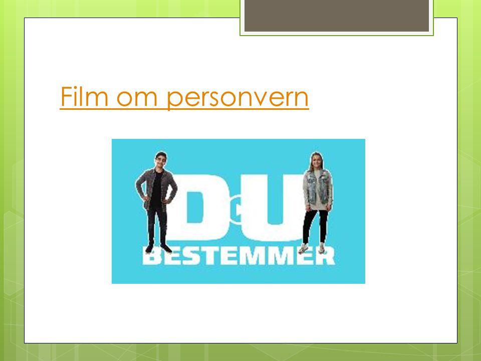 Film om personvern