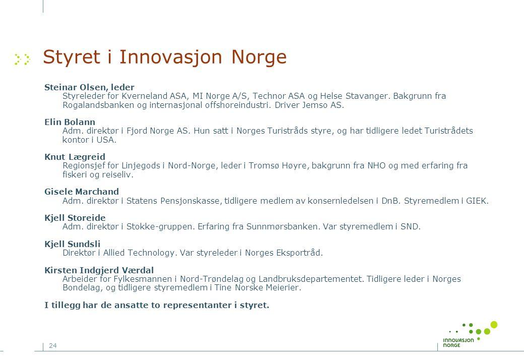 Styret i Innovasjon Norge