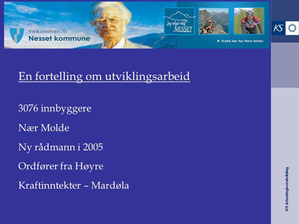 Nesset kommune – fra 10 til 6