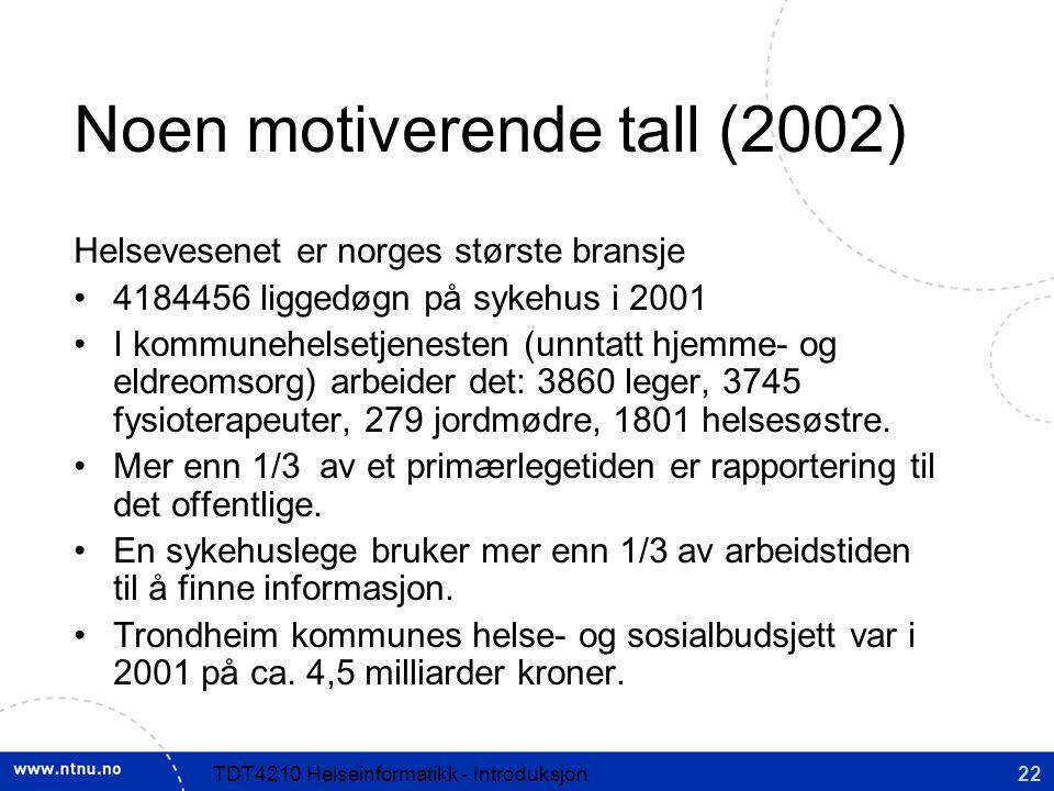 Noen motiverende tall (2002)