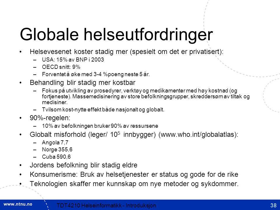 Globale helseutfordringer