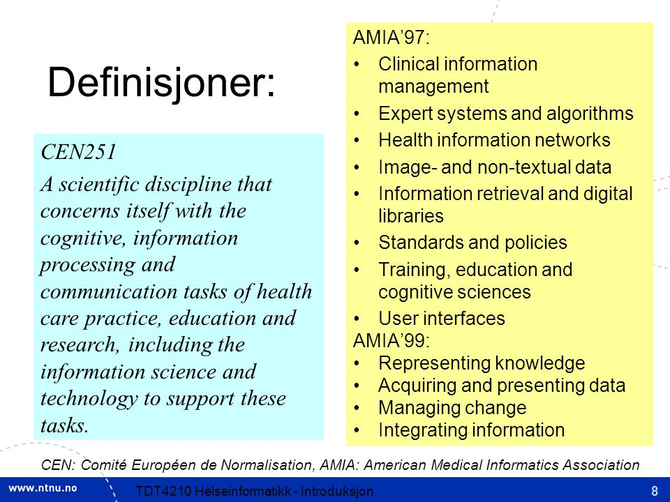 AMIA'97: Clinical information management. Expert systems and algorithms. Health information networks.