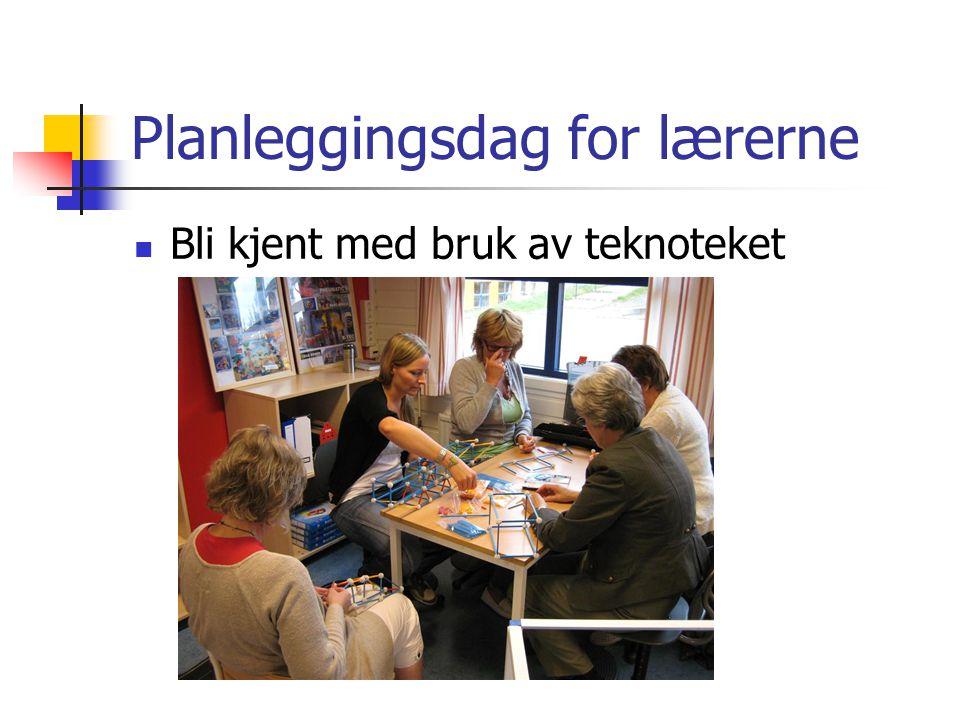 Planleggingsdag for lærerne