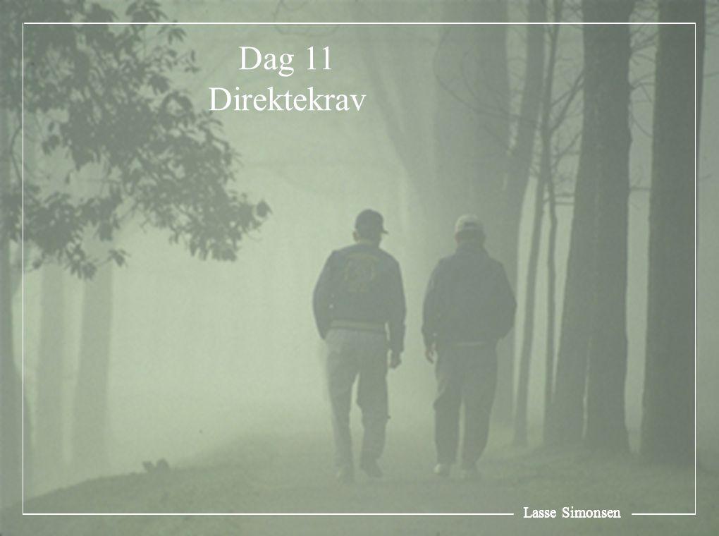 Dag 11 Direktekrav Lasse Simonsen Lasse Simonsen