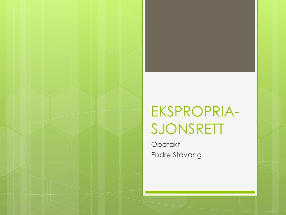 EKSPROPRIA-SJONSRETT