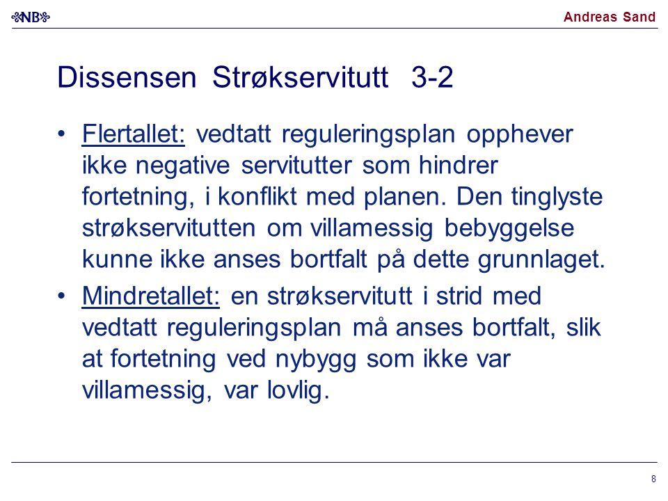 Dissensen Strøkservitutt 3-2