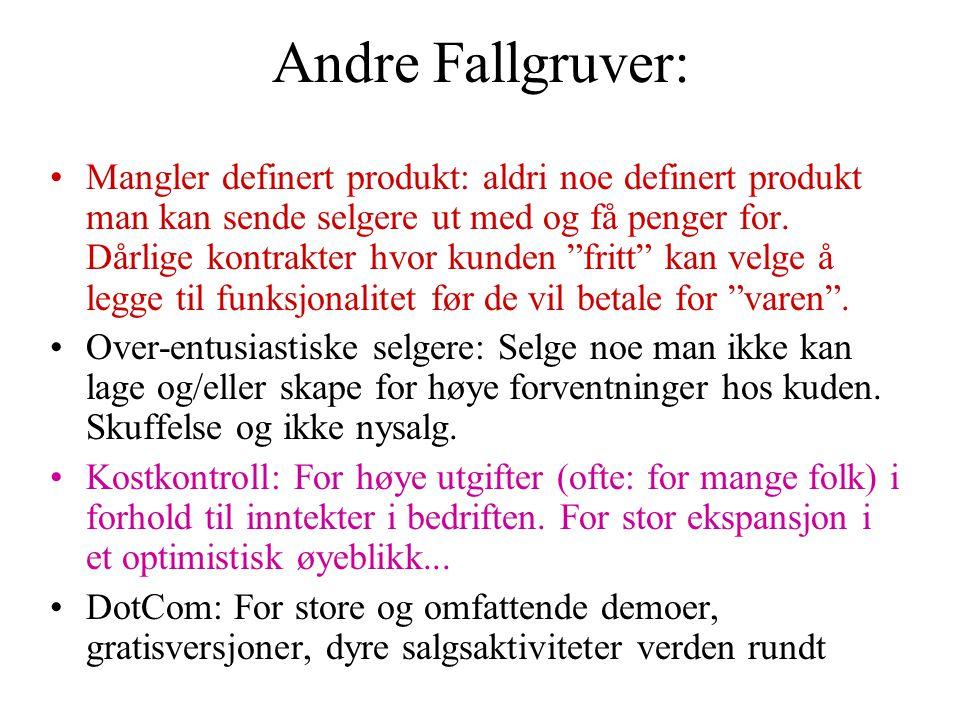 Andre Fallgruver: