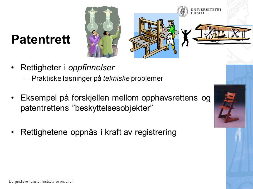 Patentrett Rettigheter i oppfinnelser