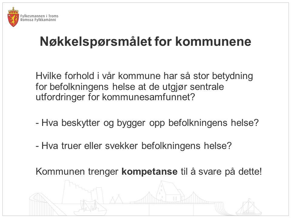 Nøkkelspørsmålet for kommunene
