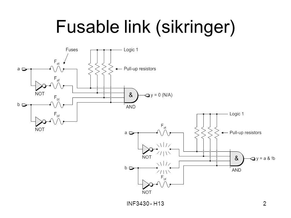 Fusable link (sikringer)