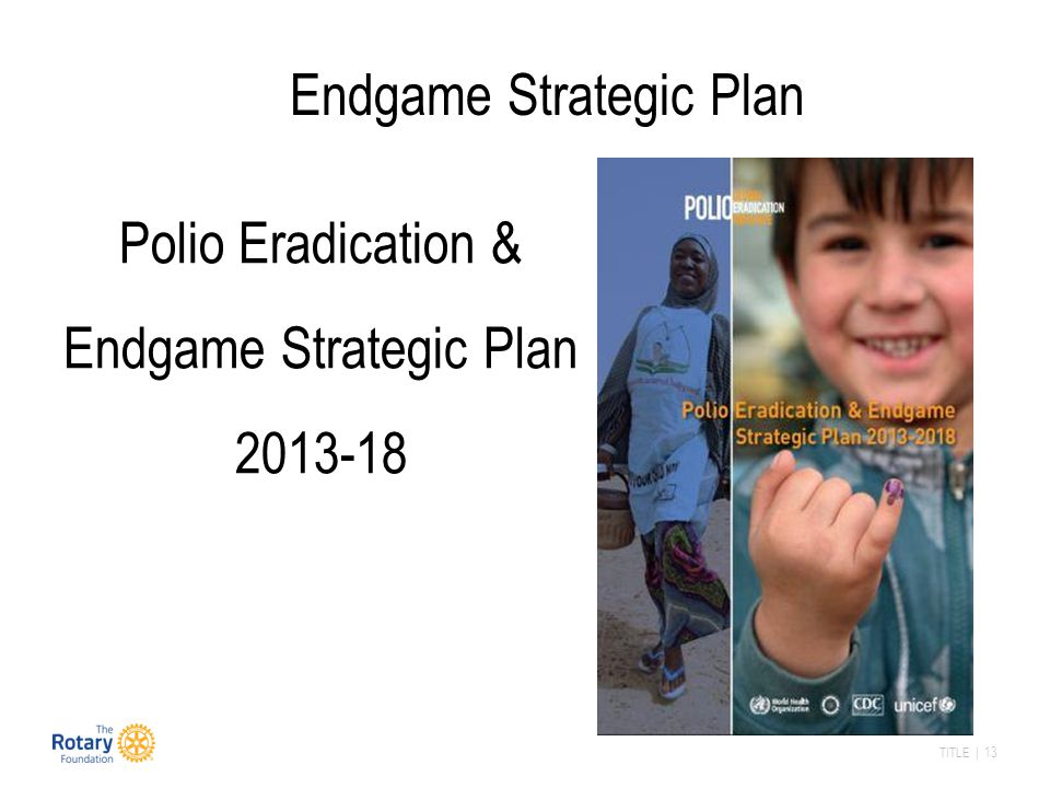 Endgame Strategic Plan