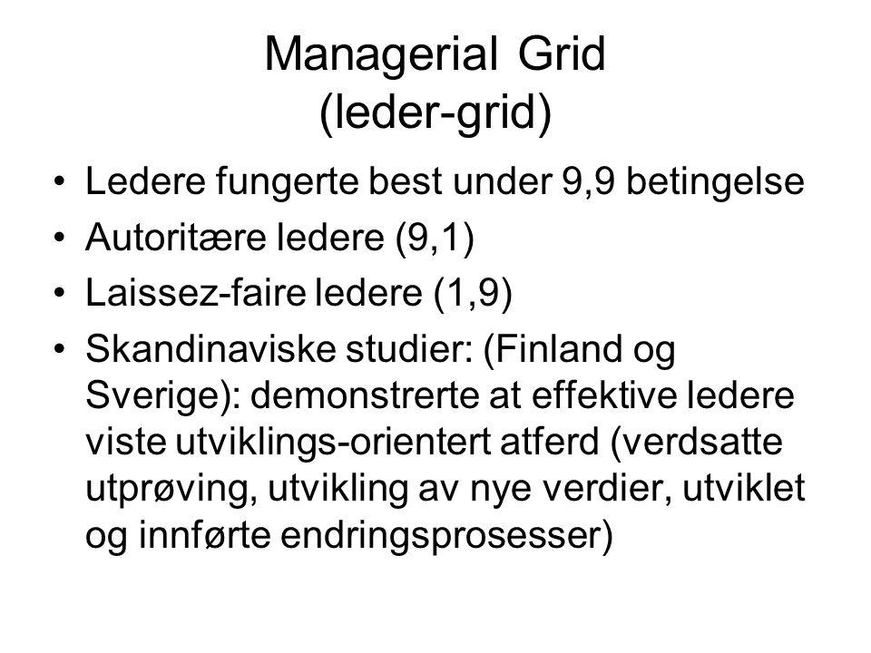 Managerial Grid (leder-grid)